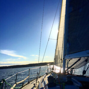 Learn to Sail. Cruising-Live Aboard Sail Canada Lessons.