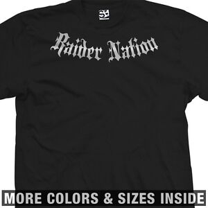 Raider-Nation-Addict-T-Shirt-Raiders-Addiction-Oakland-All-Sizes-Colors