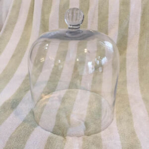 Vintage/antique hand-blown glass bell jars/domes/cloche