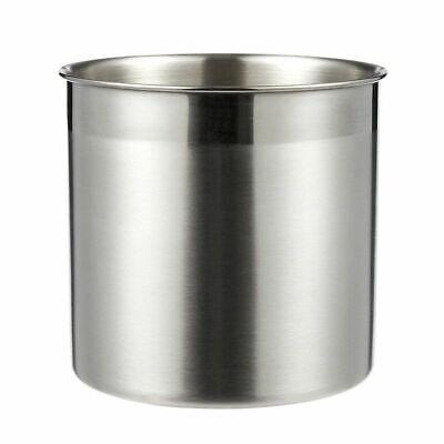 Silver Cutlery Caddy Stainless Steel Cooking Kitchen Utensil Organizer Holder