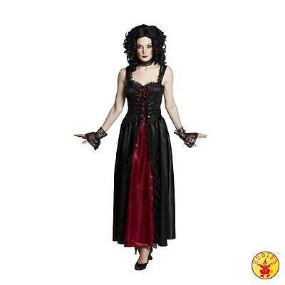 RUB 13755 Vampir Hexe Gothic Lady Kleid Fasching Karneval Kostüm Damen 34-44