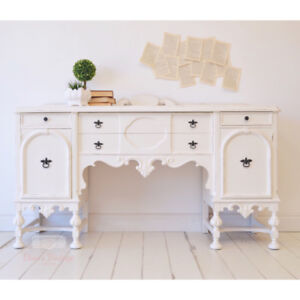 Antique White Buffet / Sideboard
