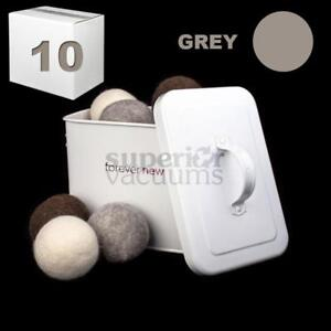 New Tumblers Pure Wool Dryer Ball Loose Sold In Lots Of 10 - Grey/ Price Price Is Per Ball.