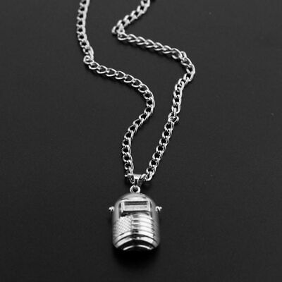 Welding Mask Necklace Metal Welder Metal Chain Necklace For Mens Jewelry