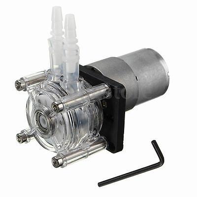 12v Large Flow Peristaltic Pump Tube Dosing Vacuum Aquarium Lab Analytical Water