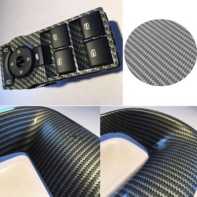Silver Carbon Fiber Hydrographic Hydro Dipping Water Transfer Print Film 2.5m