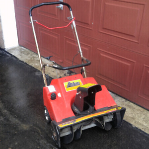 GAS SNOWBLOWER with electric starter
