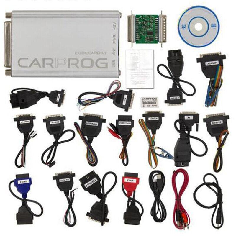 Version V10.93 Carprog Full Car Prog Programmer With All 21 Item Adapters  CP9
