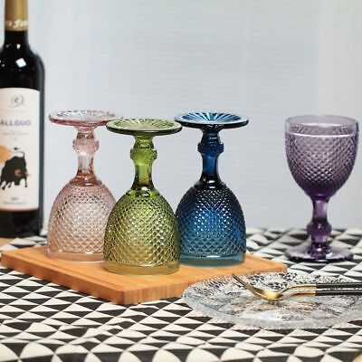 Pineapple Drinking Glasses (Wine Glasses Drinking Cups Round Pineapple Style Goblet 4 Colors)