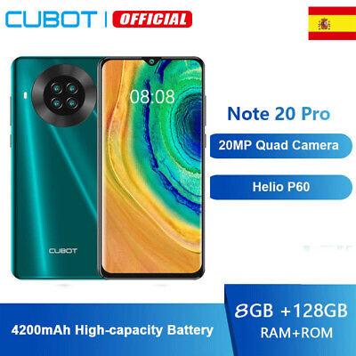 6,5'' Cubot NOTE 20 PRO 8GB+128GB NFC 4G Smartphone Octa-Core Teléfono Móvil...