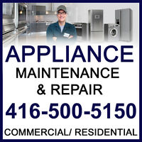 APPLIANCE REPAIR EXPERT-- ALL BRANDS ~ ALL MODELS ~ FLEXIBLE