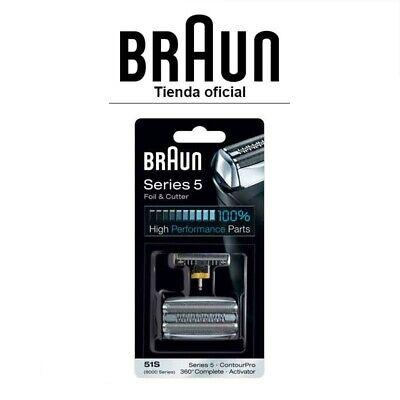 Recambio para afeitadora eléctrica Braun 51S - Para modelo Series 5, 8000...