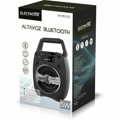 Altavoz Bluetooth portátil 5W Entrada TF Radio USB Reproductor MP3 Bajo consumo