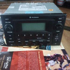 jetta mk4  radio