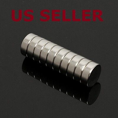 10 Pcs Neo Neodymium Disc 8x3 Mm Rare Earth N38 Magnets For Warhammer Craft