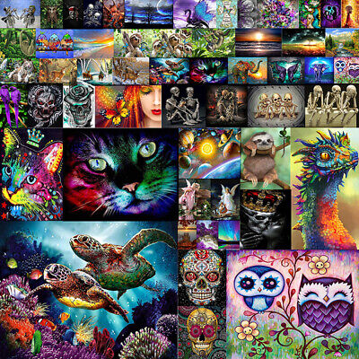 Full Drill 5D Diamond Painting Embroidery Cross Crafts Stitch Kit Home -