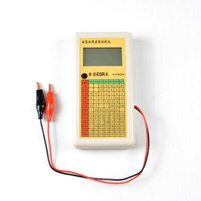 2019 New Digital Lcd Esr Capacitance Ohm Meter In Circuit Tester