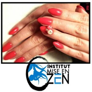 Pose d'ongles