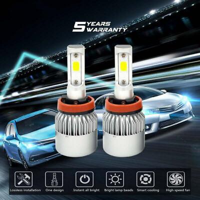 LED For Lincoln MKZ 2007-2012 Headlight Kit H11 6000K White CREE Bulbs Low Beam