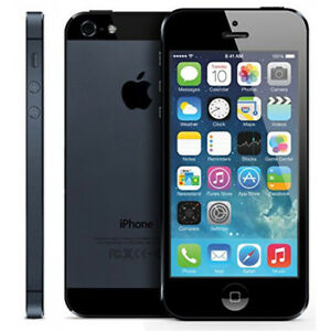Fido iPhone 5 16gb, black, in original box, excellent condition!
