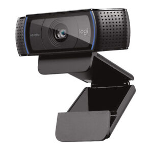 Logitech C920 HD Pro Webcam with privacy cover