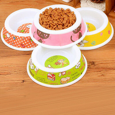 New Cute Pet Dog Cat Puppy Slow Down Eating Feeder Feed Bowl Food Water Dish