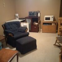 Seeking One Mature Quiet Person for Basement Bachelor Room