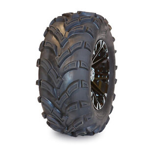 NEW ATV TIRES (2) 25X8-12 + (2) 25X10-12 PNEUS DE VTT TRAXION