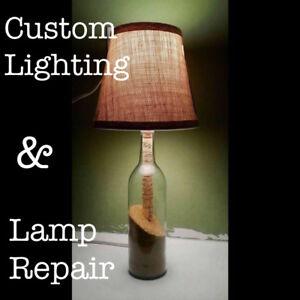 Custom Lighting and Lamp Repair - Starting at $15+