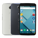 Factory Unlocked Motorola Nexus 6 XT1103 Good Condition 32GB 64GB White Blue