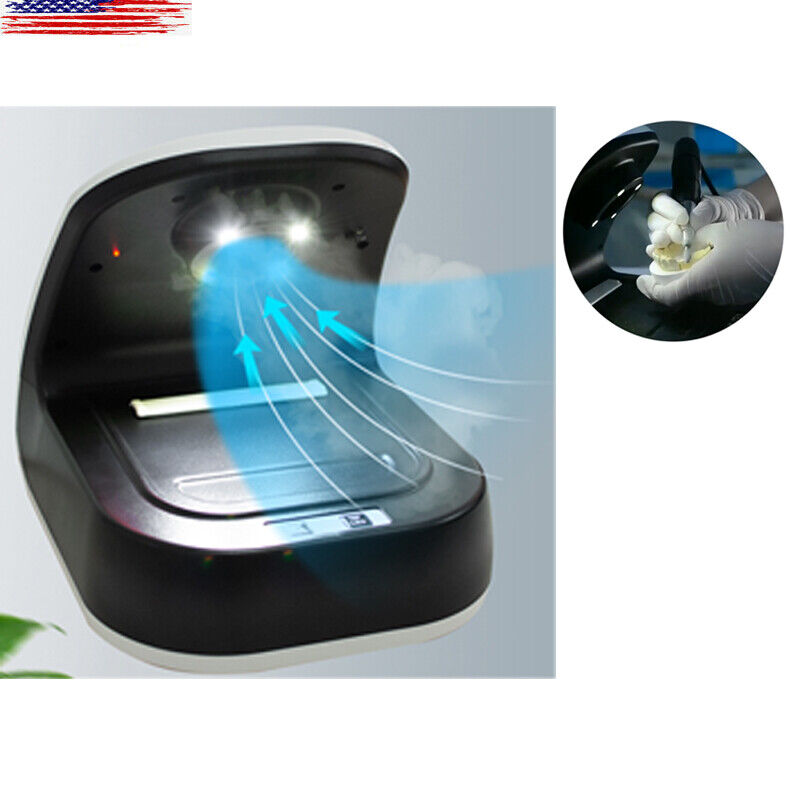 Portable Dental Dust Collector LED Extract Grind Sandblaster Vacuum Cleaner USA