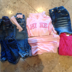 GIRLS CLOTHES SIZE 2/3