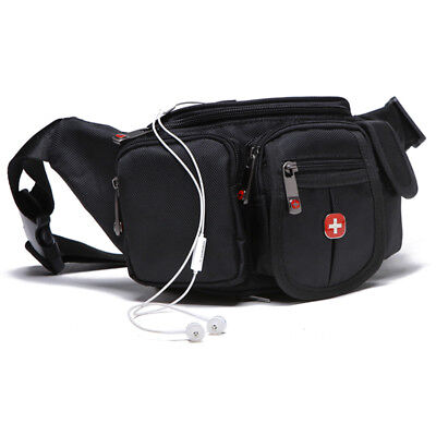 Outdoor Casual Running Cycling Swiss Gear Waist Bags Tough Fanny Pack Hip Pouch