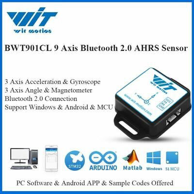 Bluetooth Multiple Inclinometer Sensor 3 Axis Angle Acceleration Gyro Compass