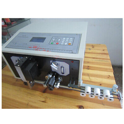 0.1-2.5mm Computer Wire Peeling Stripping Cutting Machine Swt508c-ii 110v