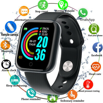 Bluetooth Smart Watch Heart Rate Monitor For Apple iPhone 11 X XR XS MAX 7 8PLUS