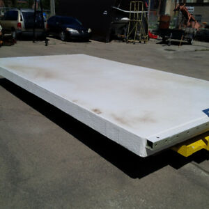 INDUSTRIAL FIBERGLASS FLOATING DOCKS. 8'X15'