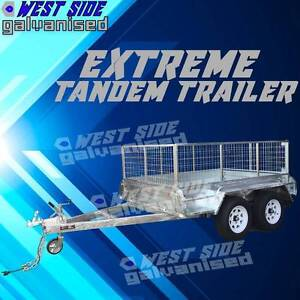 ✆10x6 DUAL-AXLE Extreme-HD Hot dipped Galvanized Tandem trailer✆ Ravenhall Melton Area Preview