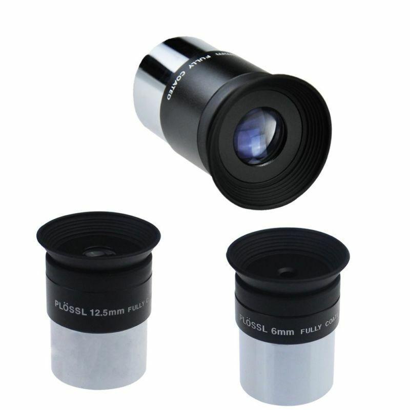 Gosky 6mm 12.5mm 20mm 1.25inch Plossl Telescope Eyepiece Set / Telescope Lens