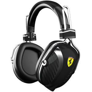 Ferrari Black, Logic 3 headset w/black case