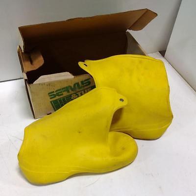 Servis Lite Tuf Size 12 Waterproof Polylite Overshoe 70926 New