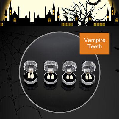 2Pcs Halloween Costume Cosplay PartyTeeth with Dental Gum Fangs Vampire Teeth