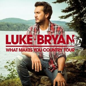 Two tickets to Luke Bryan/Sam Hunt May 31st Rogers Centre