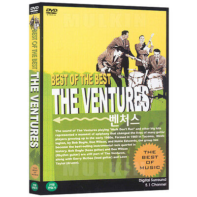 THE VENTURES - Best of The Best DVD (*New *Sealed *All Region)