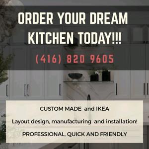 kitchen cabinet IKEA & custom installation and design installers
