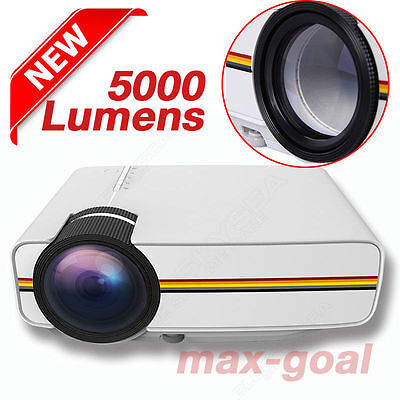 Newest 5000Lm Android 4 4 Hd 1080P Led 3D Av Hdmi Tv Home Theater Projector Ek