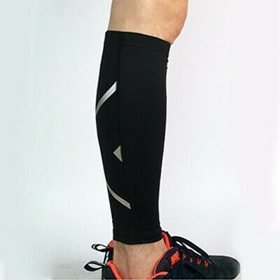 Fashion Calf Compression Sleeves Athletic Sports Track Running Leg Support Socks Fashionable Compression Arm Sleeves