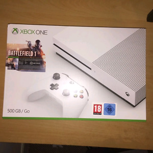 Hey I have a brand new Xboxone s for trade