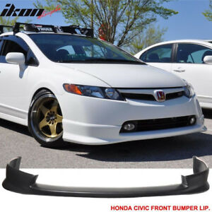 Fits 06-08 Honda Civic 4Dr Sedan HFP Style Front Bumper Lip
