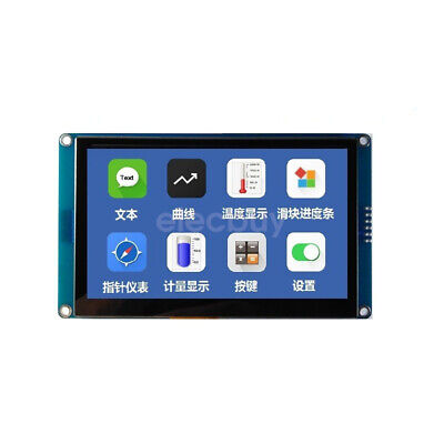 New 4.3 Inch Hmi I2c Tft Lcd Display Module Capacitive Touch Screen For Arduino